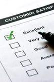 顾客满意服务 免版税库存图片