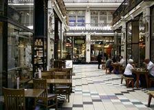 巴顿拱廊, Deansgate,曼彻斯特 库存照片