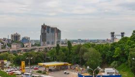 顿河畔罗斯托夫,俄罗斯- 2018年5月18日:顿河畔罗斯托夫市的看法 俄国 库存照片