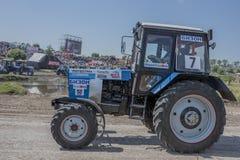 顿河畔罗斯托夫,俄罗斯6月05,2016 :agricultur的竞争 库存图片