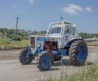 顿河畔罗斯托夫,俄罗斯6月05,2016 :agricultur的竞争 免版税库存照片
