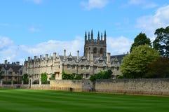 默顿领域,牛津,英国 免版税库存图片