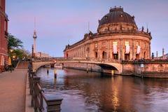 预示的博物馆,柏林,德国 免版税库存照片