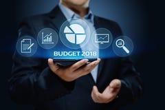 预算企业财务经济帐户管理概念 图库摄影