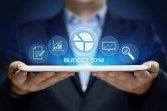 预算企业财务经济帐户管理概念 免版税库存照片