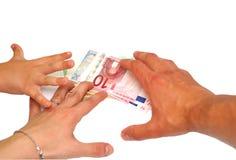 预算值系列 免版税库存图片