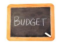 预算值 免版税库存照片