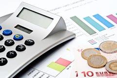预算值 免版税库存图片