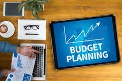 预算计划 库存照片