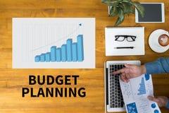 预算计划 免版税库存图片