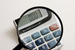 预算财务 免版税库存图片