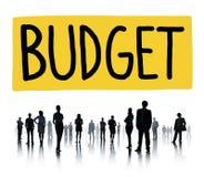 预算资金投资资本经济概念 免版税库存照片