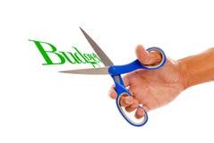 预算销减 免版税图库摄影