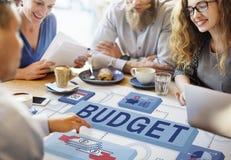 预算财务货币收入投资概念 图库摄影