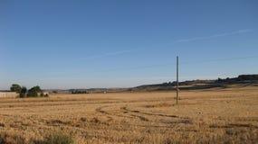 领域和风景 免版税库存图片