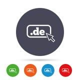 领域DE sign象 上层互联网领域 库存照片