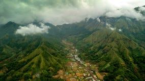 领域lombok颜色 免版税图库摄影