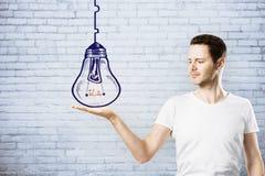 领导、想法和计划概念 图库摄影