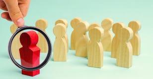 领导与队沟通并且作指示 企划和目标设置 配合 团队精神 人力 免版税库存照片