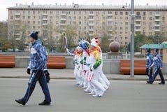 领导人在高尔基公园在莫斯科 图库摄影