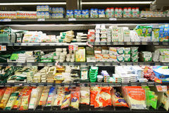 领导人价格超级市场内部 图库摄影