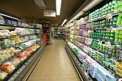 领导人价格超级市场内部 库存照片