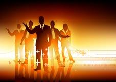 领导先锋专业人员小组 免版税库存图片