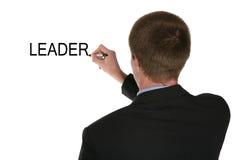 领导先锋 免版税库存图片