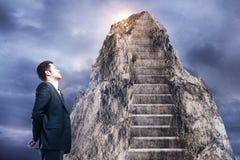 领导和成功概念 免版税库存图片