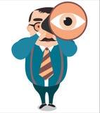 领导大视觉,传染媒介 免版税库存图片