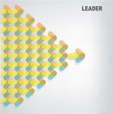 领导标志 免版税库存照片
