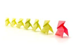 领导的概念性例证 免版税库存图片