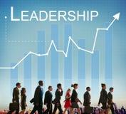 领导管理才能领导人支持概念 库存照片
