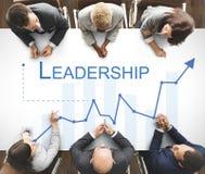 领导管理才能领导人支持概念 免版税库存图片
