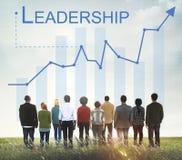 领导管理才能领导人支持概念 库存图片