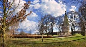 领导1月Zizka, Hussite革命,捷克的著名古墓  免版税库存图片