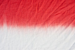 领带染料样式垂度洗染了在棉织物背景的技术 库存照片