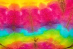 领带染料颜色 免版税库存图片
