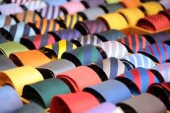 领带的汇集待售 免版税库存图片