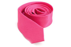领带粉红色 免版税库存图片
