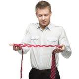 领带艺术领带 图库摄影