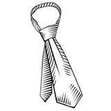 领带(传染媒介) 免版税图库摄影