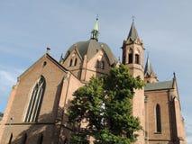 领港教会在奥斯陆,挪威 库存图片