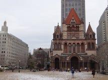 领港教会,波士顿 库存照片