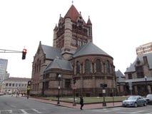领港教会,波士顿 免版税库存照片