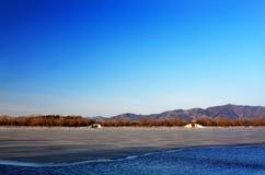 颐和园冬天 免版税库存图片
