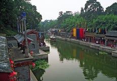 颐和园复合体的片段,北京,中国 免版税库存照片