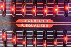 频率音量控制器 库存图片