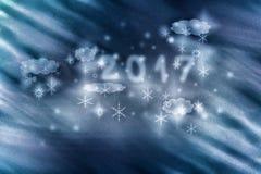 颗粒状技术做了新年例证作为背景 库存图片