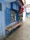 颜色、parfums和感觉在摩洛哥 免版税库存照片